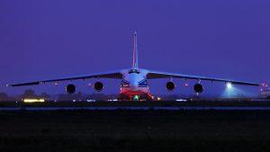 Aircraft transpotation header
